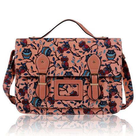 NOVINKA - kabelka, taška, sovy,