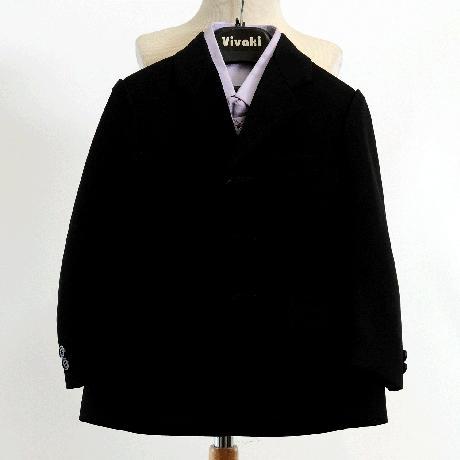 NOVINKA - lilla, světle fialový oblek, 62