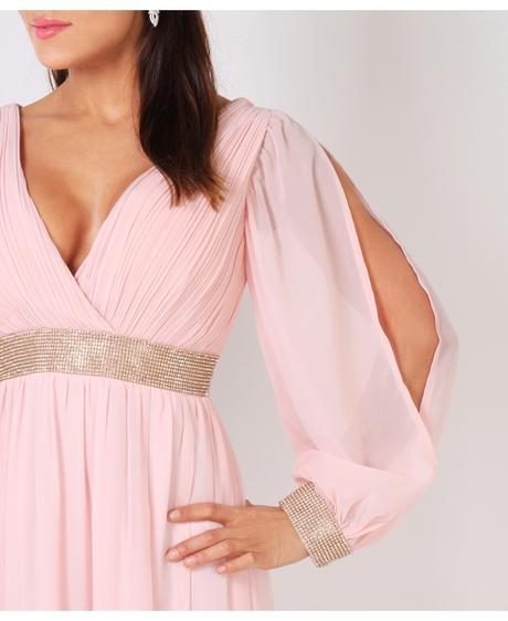 NOVINKA - Mint svatební, společenské éterické šaty, 40