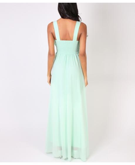 NOVINKA - Mint svatební, společenské éterické šaty, 38