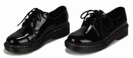 NOVINKA - modré šněrovací mokasíny, boty do práce, 41