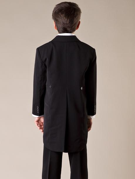 NOVINKA - oblek pro chlapce, burgundy, frak, 122