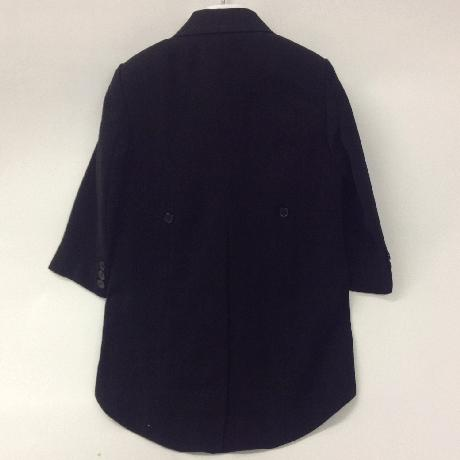 NOVINKA - oblek pro chlapce, burgundy, frak, 134