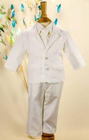 NOVINKA - oblek pro chlapce k prodeji, celokrémový, 104