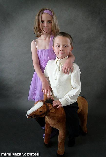 NOVINKA - oblek pro chlapce k prodeji, frak, 164