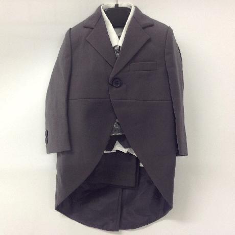 NOVINKA - oblek pro chlapce k prodeji, stříbrný, 104