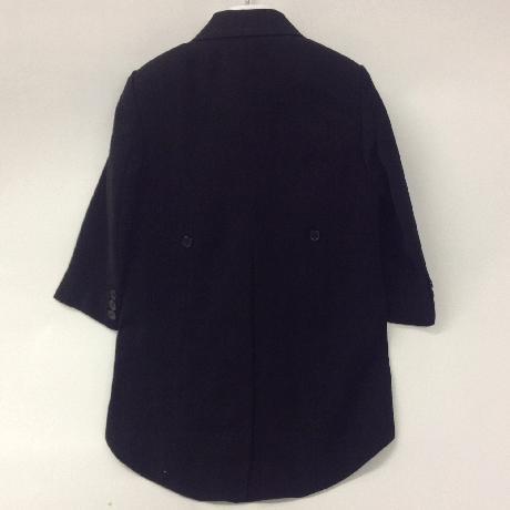 NOVINKA - oblek pro chlapce, modrý oblek, frak, 134