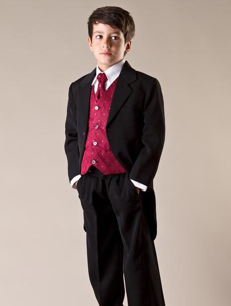 NOVINKA - oblek pro miminko, burgundy, vínový, 92