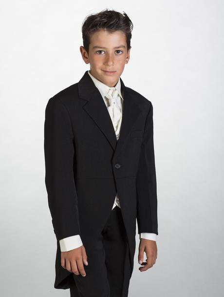 NOVINKA - oblek pro miminko k prodeji, ivory, čern, 98