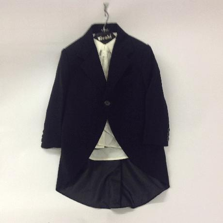 NOVINKA - oblek pro miminko k prodeji, ivory, čern, 140
