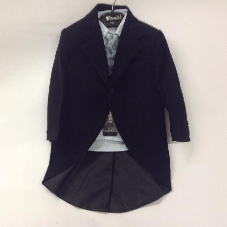 NOVINKA - oblek pro miminko, světle modrý, sako, 74