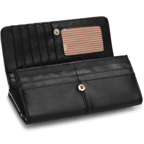 NOVINKA - peněženka, černá ,