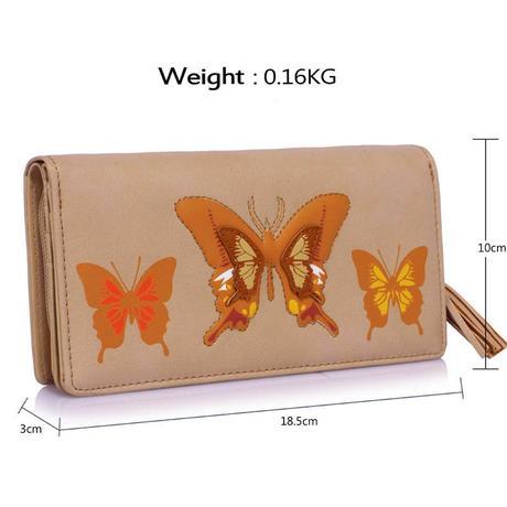 NOVINKA - peněženka - motýlci,