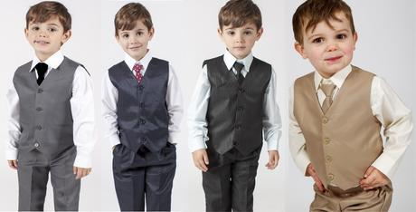 NOVINKA - proužkatý oblek k zapůjčení, 3m-9 let, 104