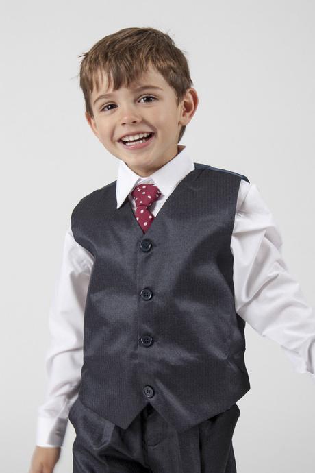 NOVINKA - proužkatý oblek k zapůjčení, 3m-9 let, 110