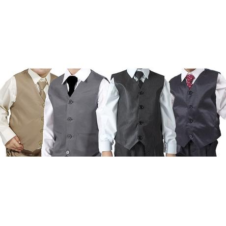 NOVINKA - proužkatý oblek k zapůjčení, 3m-9 let, 68