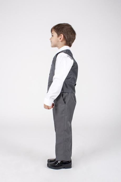 NOVINKA - proužkatý oblek k zapůjčení, 3m-9 let, 80