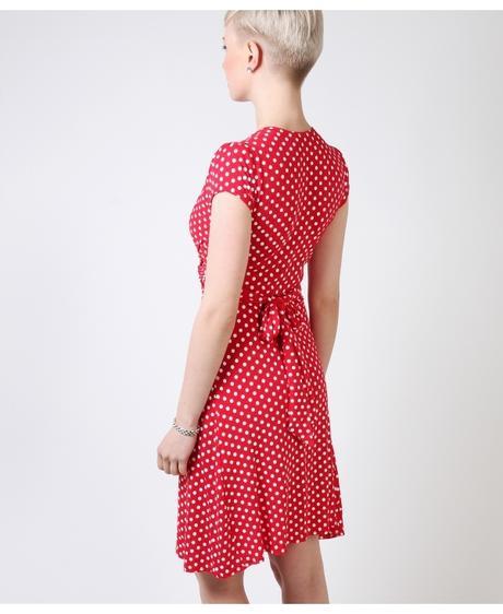 NOVINKA - puntíkaté letní, společenské šaty, 40