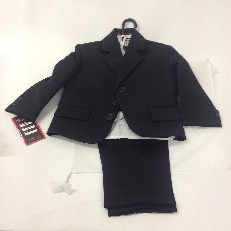 NOVINKA - šedý společenský oblek i se sakem, 158