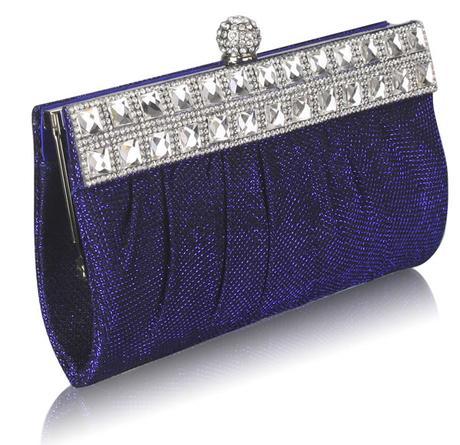 NOVINKA - stříbrná malá kabelka, psaníčko,