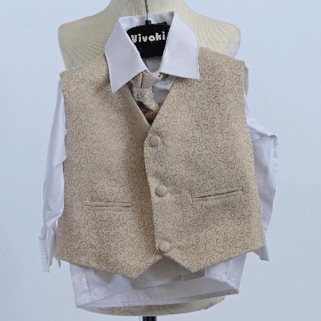 NOVINKA - stříbrný, šedý společenský oblek 0-8 let, 74