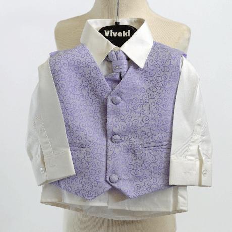 NOVINKA - stříbrný, šedý společenský oblek 0-8 let, 122