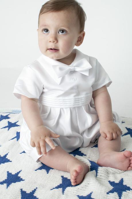 NOVINKA - svatební overal, na křtiny - 0-18 měsíců, 80