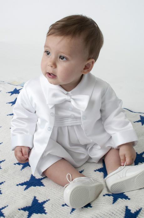 NOVINKA - svatební overal, na křtiny - 0-18 měsíců, 68