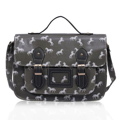 NOVINKA - taška, kabelka, koně,