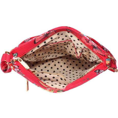 NOVINKA - taška, kabelka s motýlky,