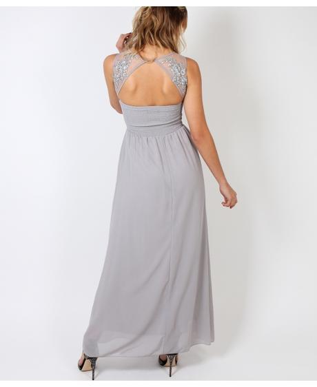 NOVINKA - tmavě modré společenské šaty, 38-44, 38