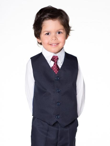 NOVINKA - tmavě modrý oblek, půjčovné, 104