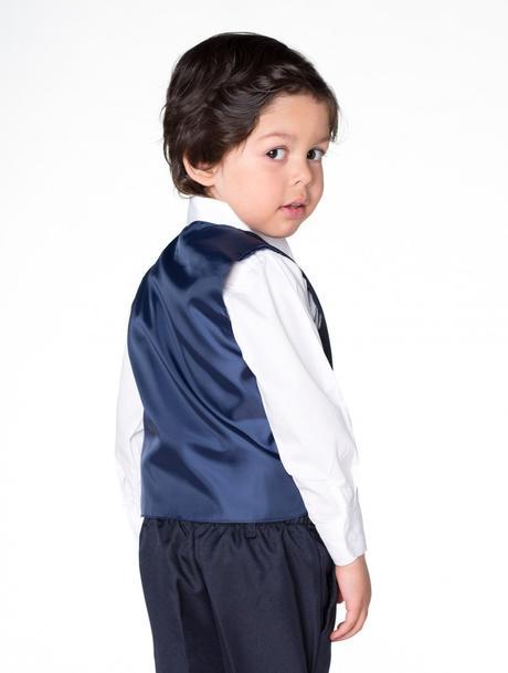NOVINKA - tmavě modrý oblek, půjčovné, 116