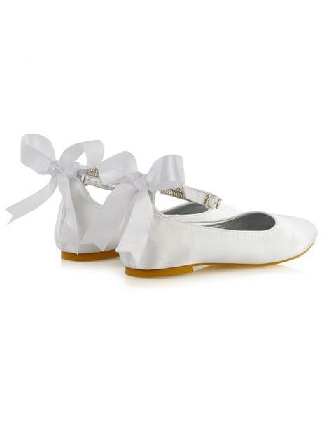 Penelope - svatební saténové baleríny, bez podpatk, 36