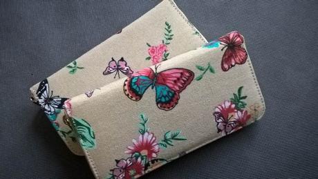 Peněženka - motýlci - vánoční dárek,