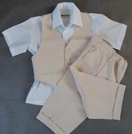 Půjčím/k prodeji béžový oblek, 2-3 roky, 98