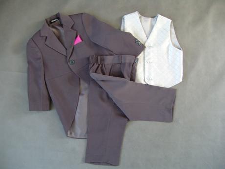Půjčím/k prodeji oblek, frak 9-18 měsíců, 86