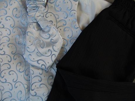 Půjčím/k prodeji světle modrý oblek 12-24 měsíců, 80