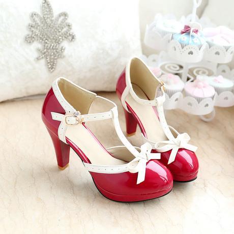 RETRO obuv - různé barvy a velikosti, styl 50.let, 38