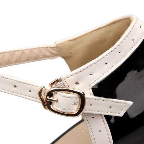 RETRO obuv - různé barvy a velikosti, styl 50.let, 37