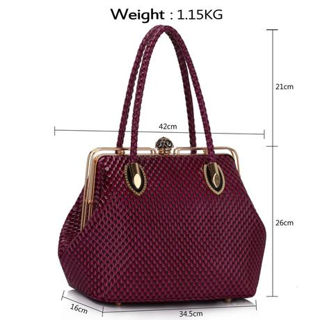 Růžová kabelka, taška,