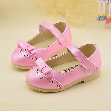 Růžové dětské boty pro družičky, 21-30, 29