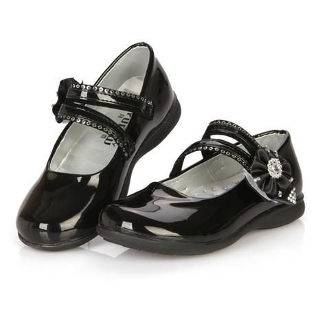 Růžové dětské boty pro družičky, 26-32, 27