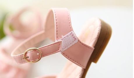 Růžové dětské sandálky, 25-29, 29
