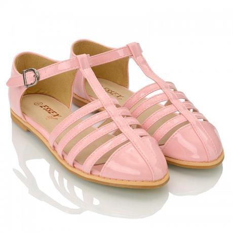 Růžové pastelové retro baleríny, lodičky, 36-41, 39