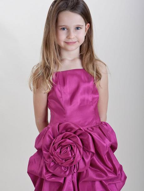 Růžové šaty k prodeji, 6-14 let, 122