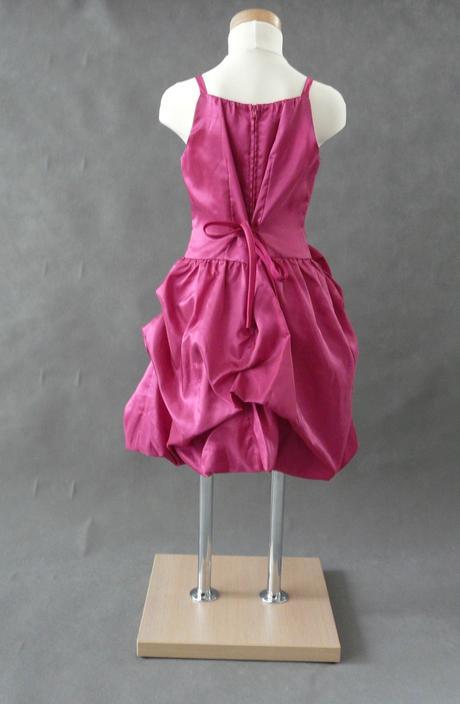 Růžové šaty k prodeji, 6-14 let, 128