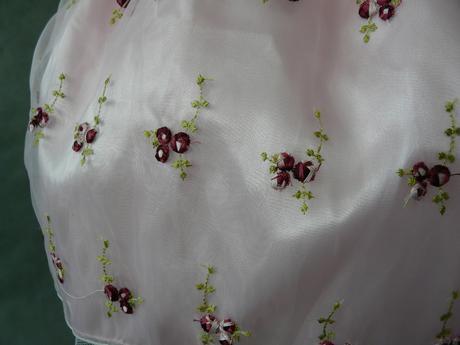 Růžové šaty pro družičky, 3-5 let, 104