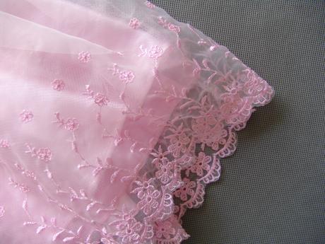 Růžové šaty pro malé princezny 1-3 roky, 80