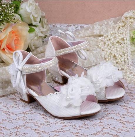 Růžové společenské sandálky pro družičky, 26-37, 30